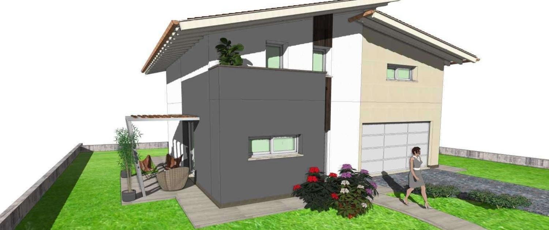 villa singola 120 + 30 1