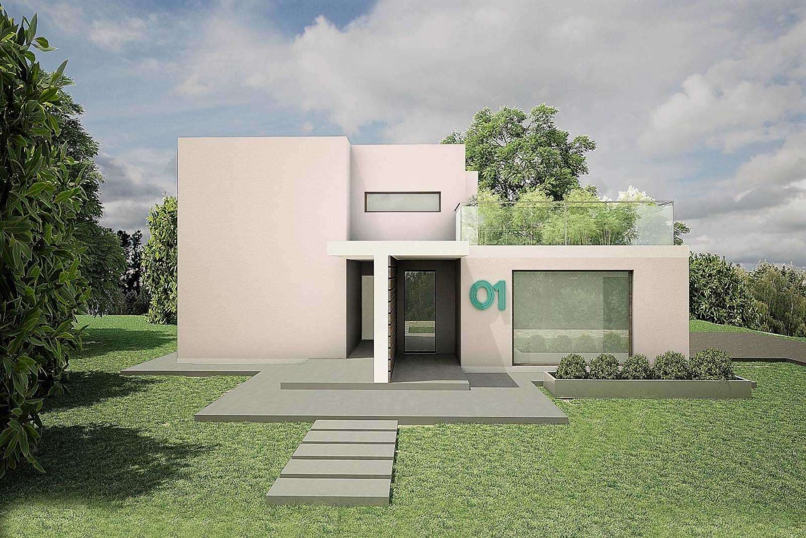 Good villa tipo cubo with progetto villa moderna for Casa minimalista in vendita