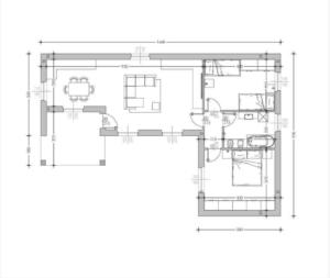 thumbnail of Villa B97 L plan