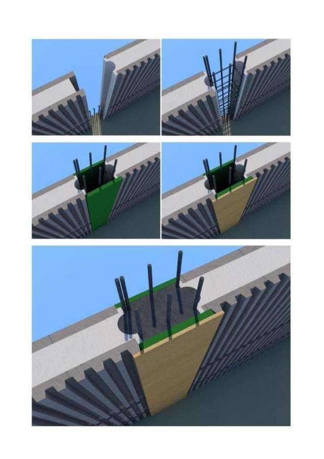 thumbnail of sequenza costruzione pilastro e giunzione